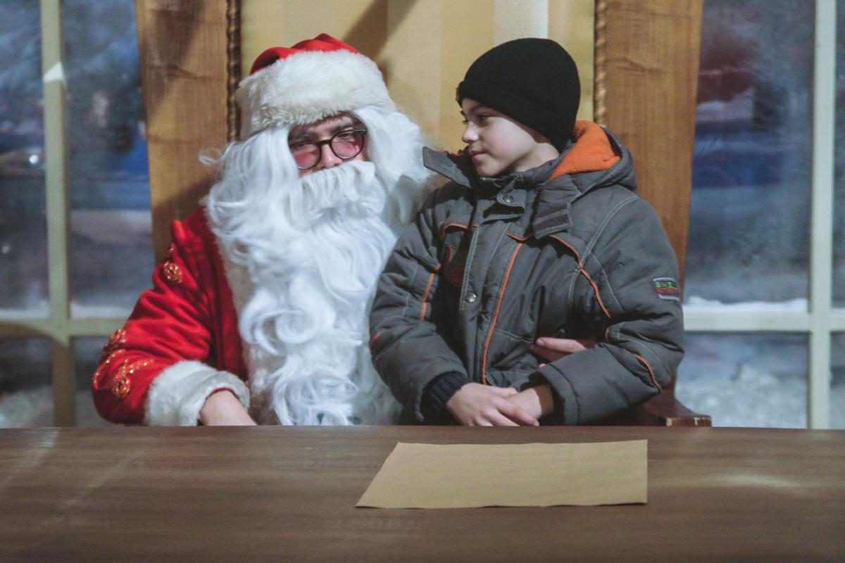 Резиденция Деда Мороза на ВДНХ