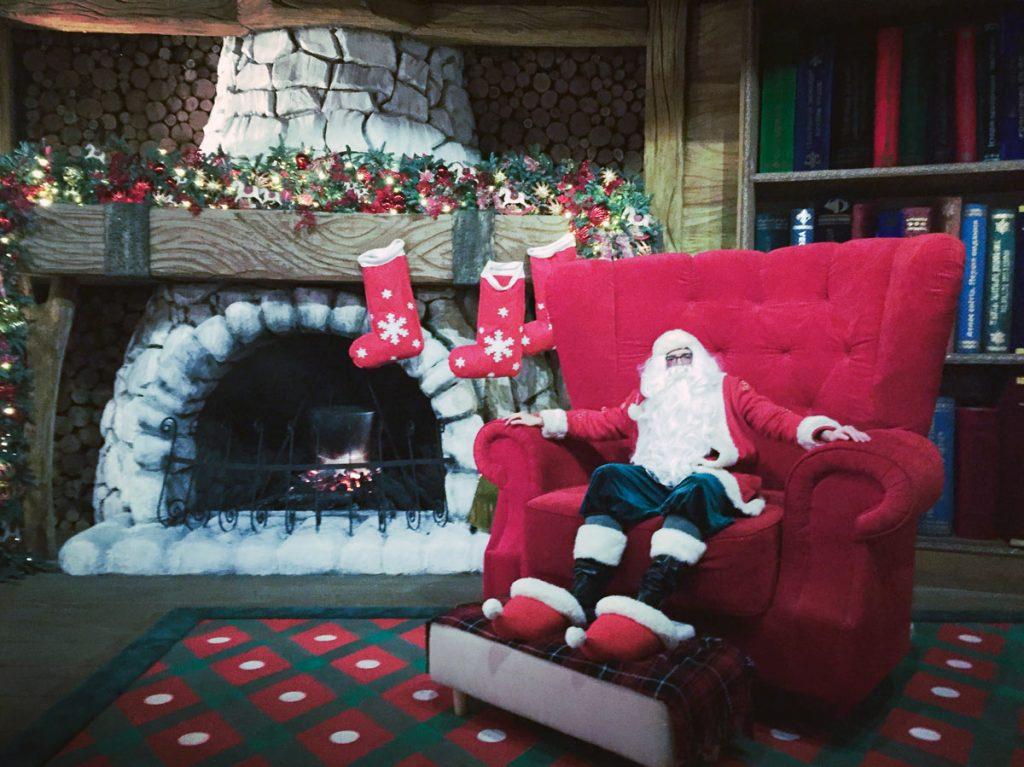 В резиденції Діда Мороза на ВДНГ