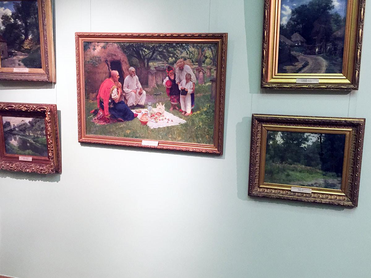 Экспозиция Национального художественного музея в Киеве