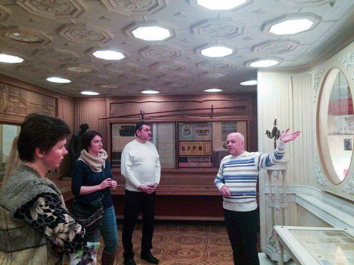 В музеї театрального та кіномистецтва України